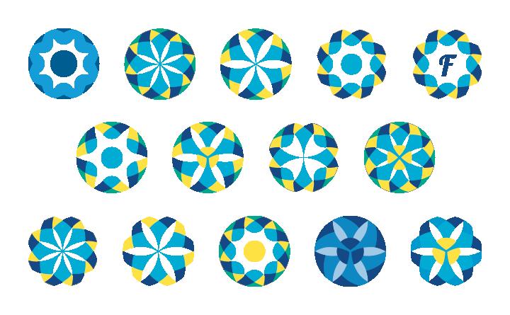 FusionScore Logo Mark Design Iterations.