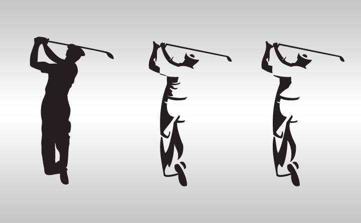 Layne Savoie Golf logo variations displayed.