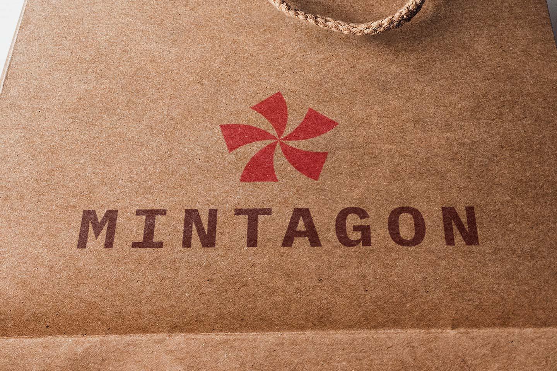 Mintagon Crate Paper Bag
