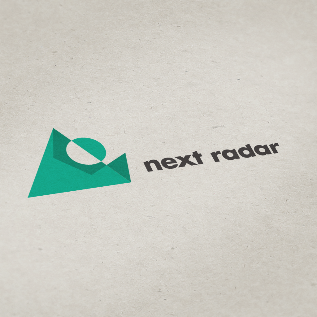 next radar logo on print sample.