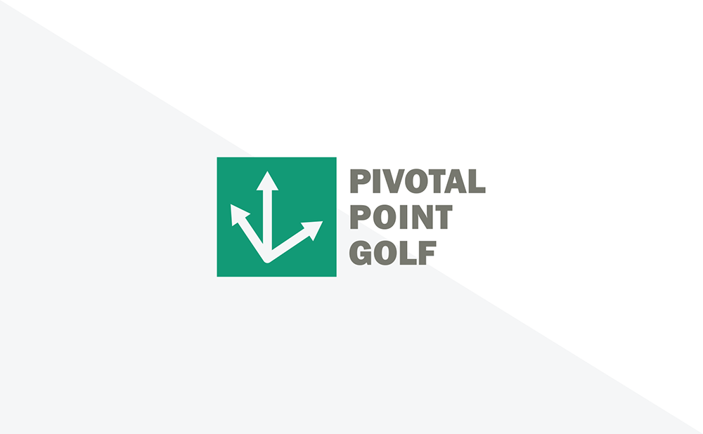 Pivotal Point Golf Logo Cutout with Words