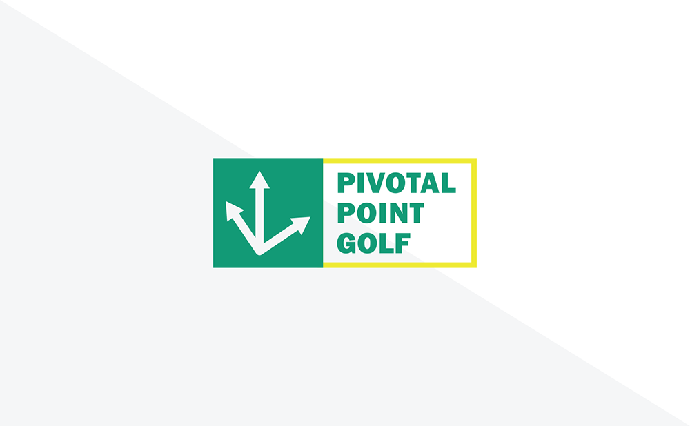 Pivotal Point Golf Implied Line Flag
