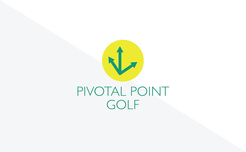 Pivotal Point Golf Alternate Emblem Yellow