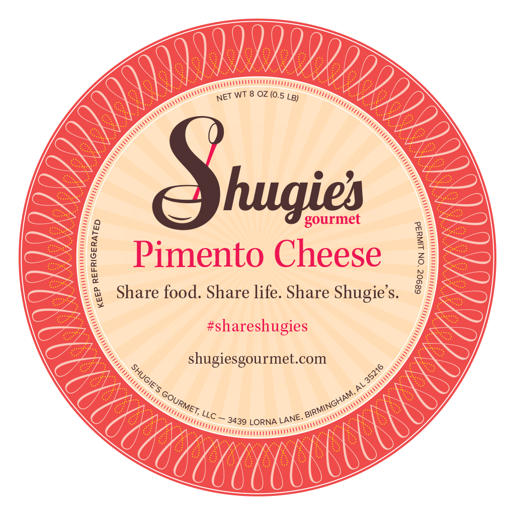 Shugie's Pimento Cheese Label