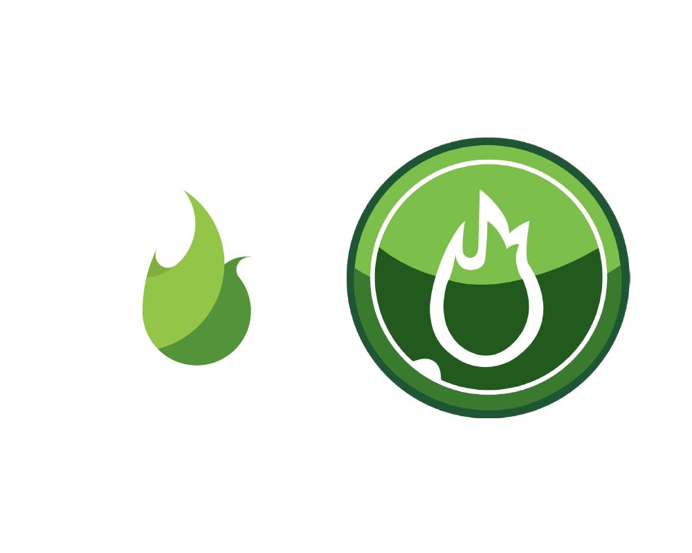VineLight Logo Mark Comparing Old vs New design.