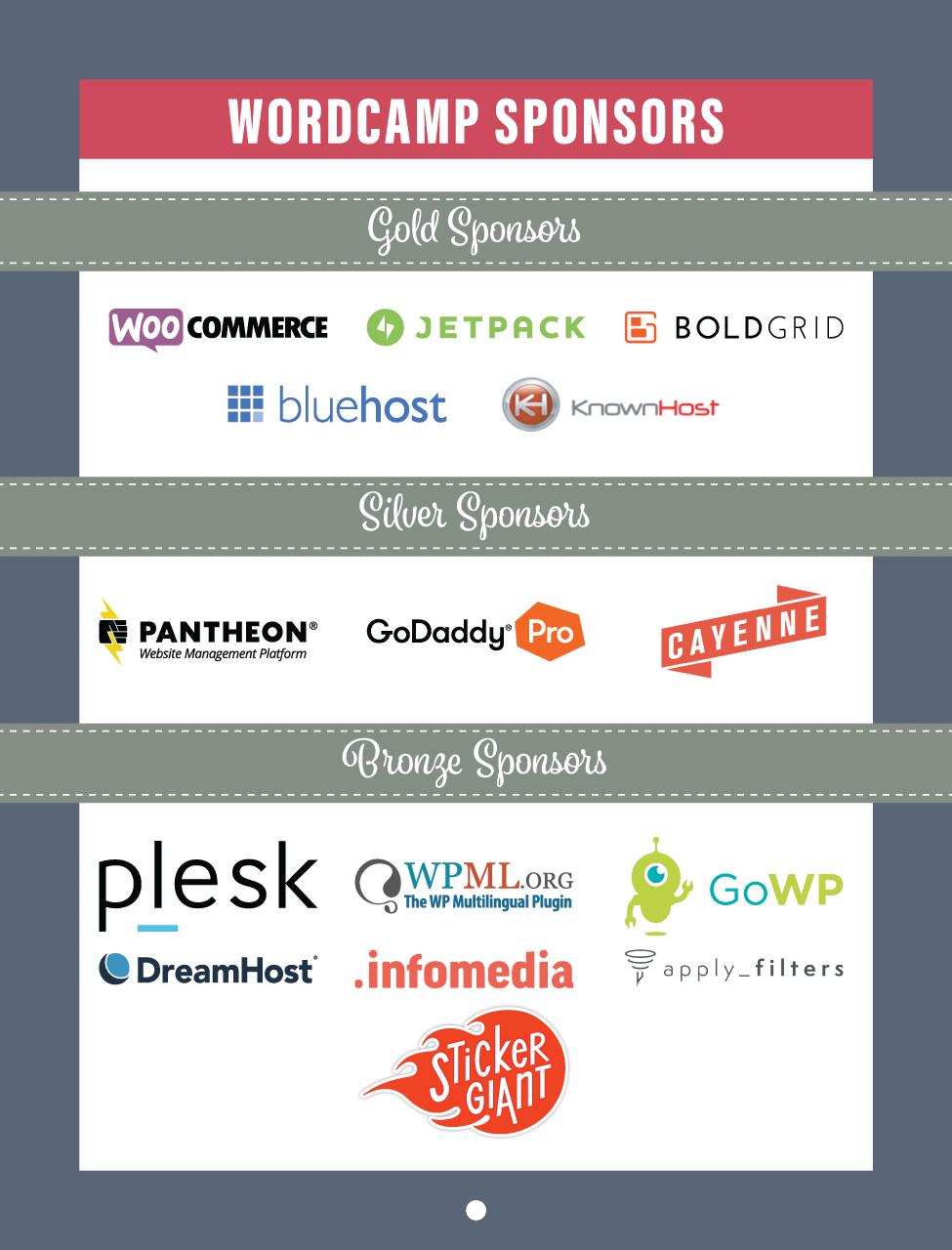 WordCamp Sponsors