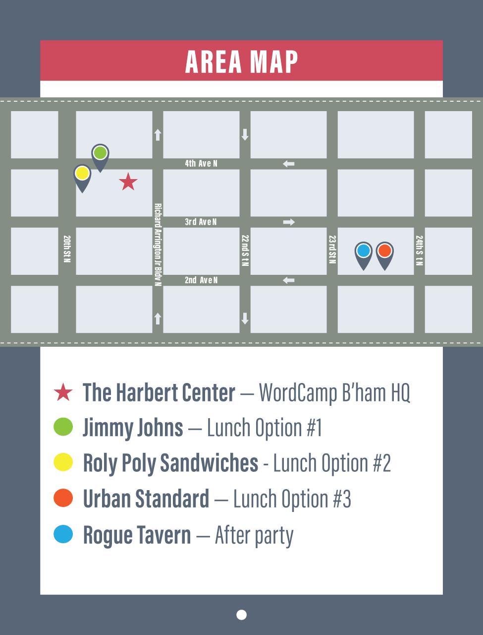 WordCamp Map
