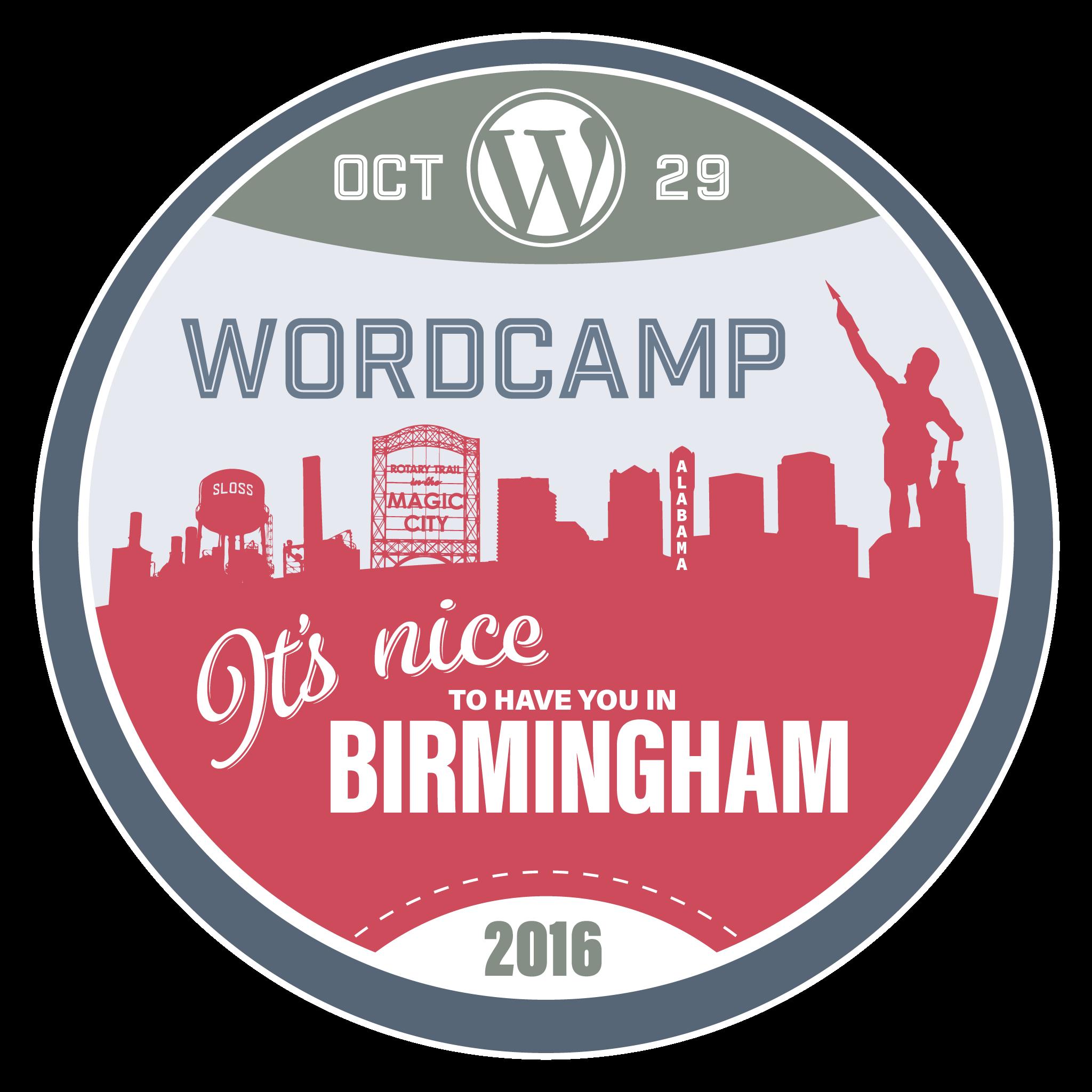 WordCamp Sticker