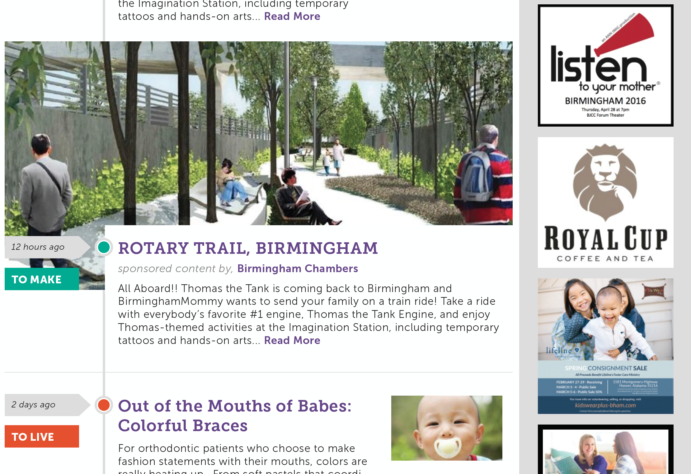 Birmingham Mommy - News Feed - Featured Article