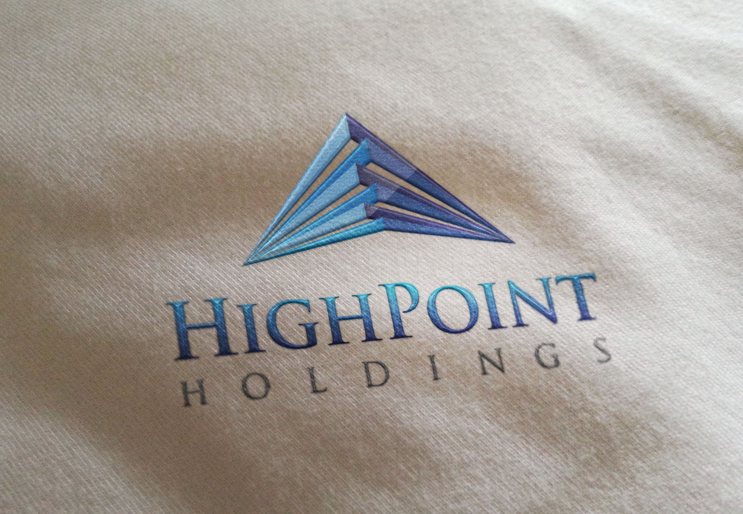HighPoint Holdings Logo Embroidered