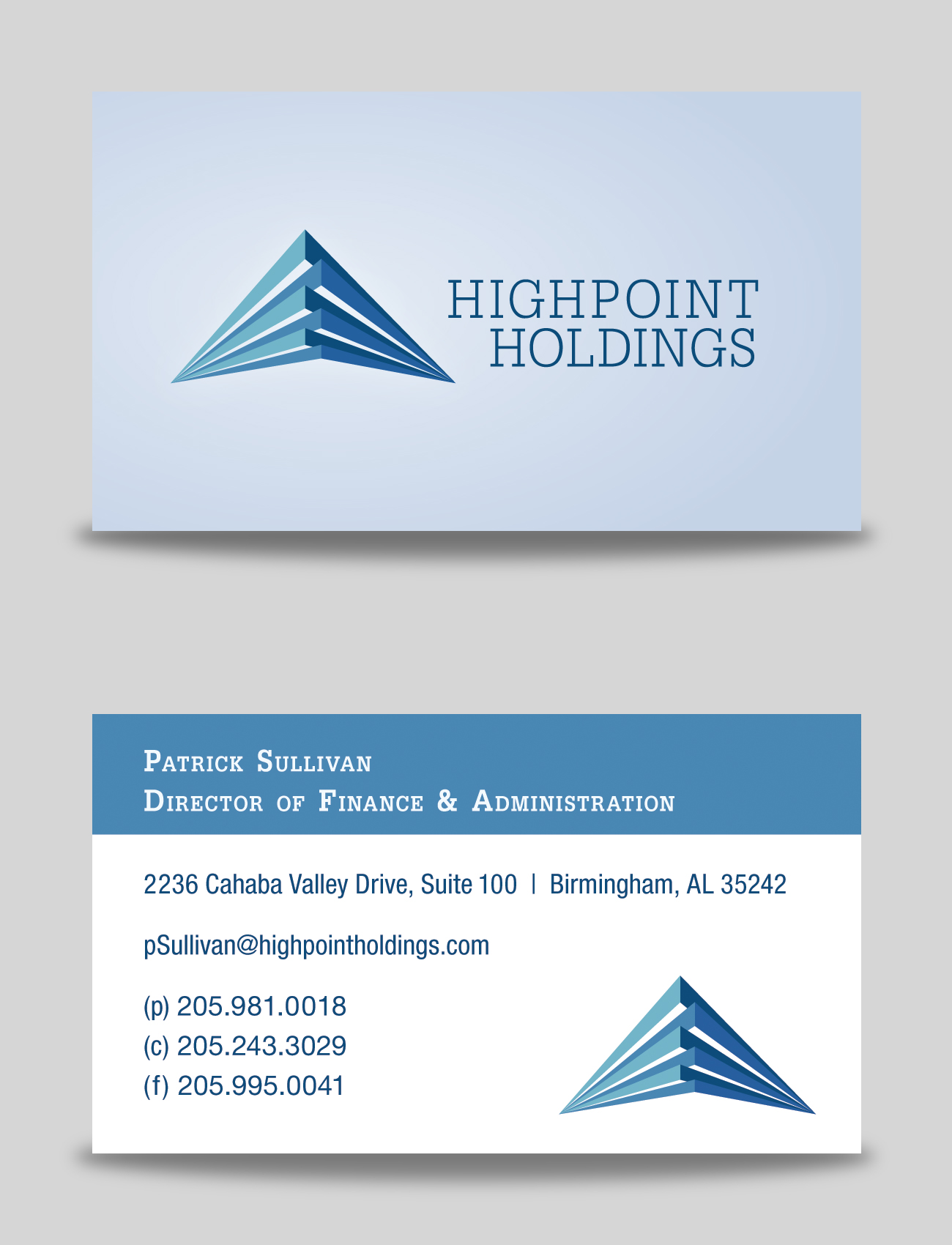 HighPoint Holdings Business Card