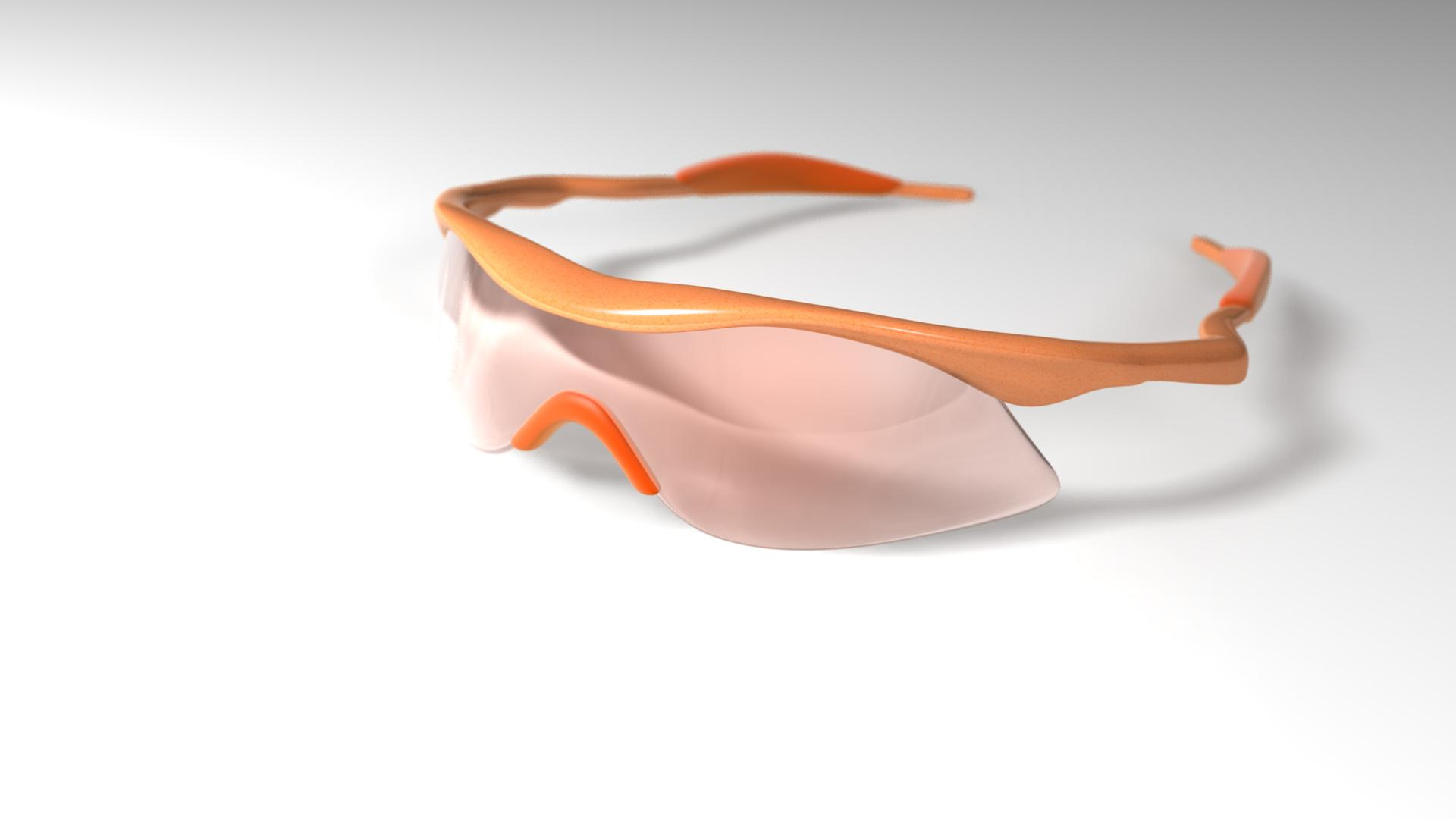 M-frame glasses
