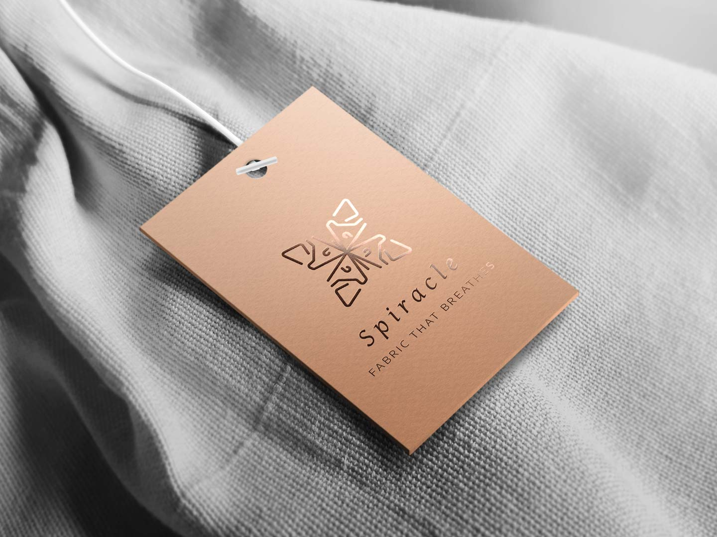 Spiracle clothing tag.