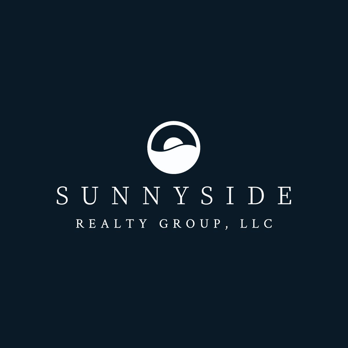 Sunnyside Realty Group logo in black and white.